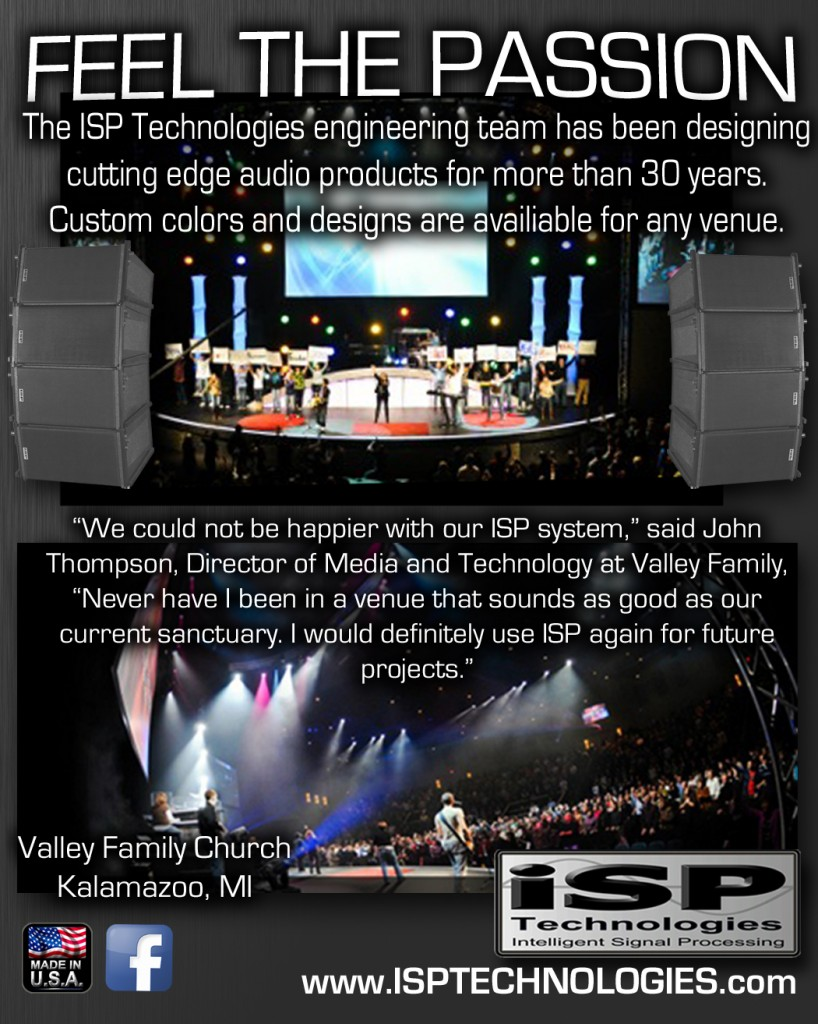 Professional Sound Equipment - Family Valley Church